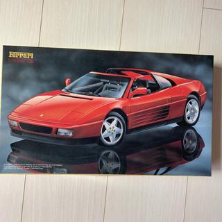 フェラーリ(Ferrari)の絶版 フェラーリ 348ts プラモデル タミヤ 1/24(模型/プラモデル)