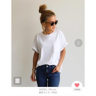 ホリデイ(holiday)のHoliday ヘヴィーウェイトポケットTシャツ(Tシャツ(半袖/袖なし))