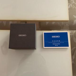 セイコー(SEIKO)のSEIKOプレサージュ(腕時計(アナログ))