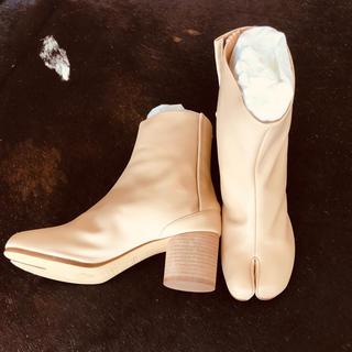 マルタンマルジェラ(Maison Martin Margiela)の新品未使用 マルジェラ 足袋 タビ ブーツ メゾンマルジェラ tabi(ブーツ)