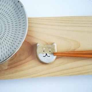 柴犬 箸置き 単品(キッチン小物)