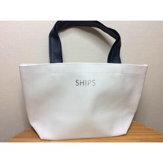 シップス(SHIPS)のships ランチトートバッグ(ハンドバッグ)