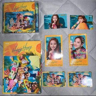ウェストトゥワイス(Waste(twice))のTWICE HAPPYHAPPY 初回限定盤A + 通常盤(K-POP/アジア)