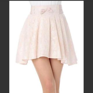 リズリサ(LIZ LISA)のLIZLISA 扇プリーツ 花柄スカート(ミニスカート)
