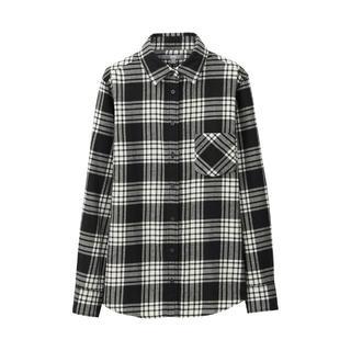 ユニクロ(UNIQLO)のUNIQLO ユニクロ フランネルチェックシャツ(シャツ/ブラウス(長袖/七分))