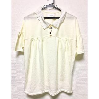 リベットアンドサージ(rivet & surge)のrivet&surge レース襟 多ボタン ポロシャツ(シャツ/ブラウス(半袖/袖なし))