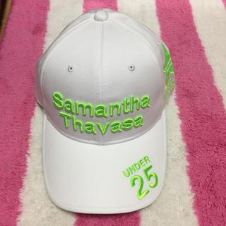 サマンサタバサ(Samantha Thavasa)のサマンサタバサ ゴルフ大会キャップ 新品未使用品(キャップ)