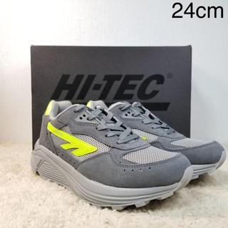 ハイテック(HI-TEC)の新品 レディースサイズ 希少 HTS74 シルバーシャドウ 24cm(スニーカー)