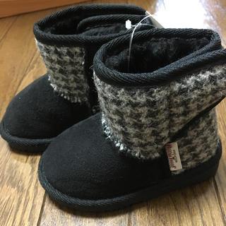 シマムラ(しまむら)の【専用】新品 ハリスツイード  ブーツ 14センチ(ブーツ)