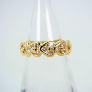 K18 ダイヤモンド ピンキーリング 4号[f30-21](リング(指輪))
