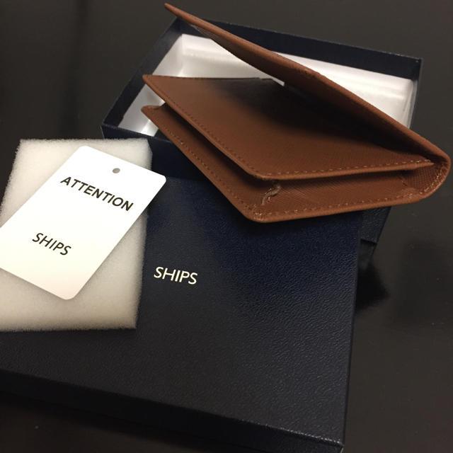 SHIPS(シップス)の【新品】SHIPS 名刺入れ レディース メンズ メンズのファッション小物(名刺入れ/定期入れ)の商品写真