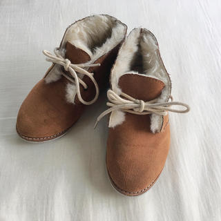 エスペランサ(ESPERANZA)の《 ESPE kids 》ファーブーツ♡(ブーツ)