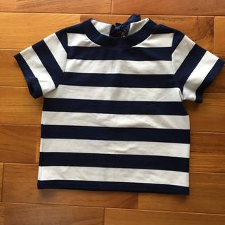 ミスティウーマン(mysty woman)のボーダーTシャツ ミスティウーマン(Tシャツ(半袖/袖なし))