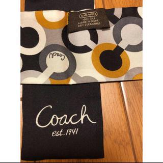 コーチ(COACH)のCOACH ツイリースカーフ(バンダナ/スカーフ)