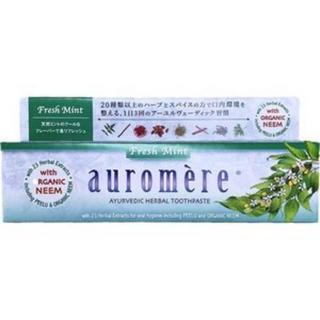 オーロメア(auromere)のオーロメア 歯磨き粉 フレッシュミント   100g auromere(歯磨き粉)