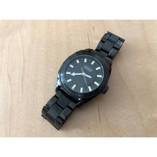 コーチ(COACH)の正規COACHブラックウオッチコーチ 金 メンズ時計 (腕時計(アナログ))