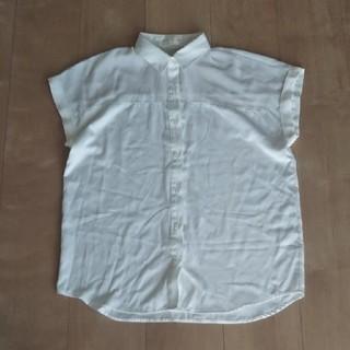 ジーユー(GU)のGU シースルー半袖シャツ ブラウス(シャツ/ブラウス(半袖/袖なし))