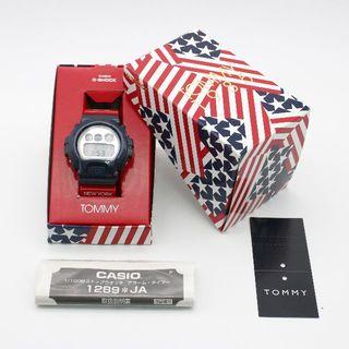 カシオ(CASIO)のCASIO G-SHOCK TOMMY HILFIGER DW-6900 極美品(腕時計(デジタル))