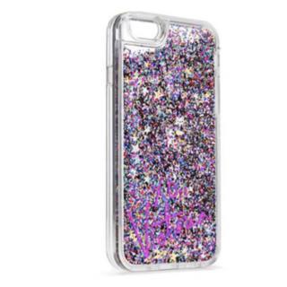 ヴィクトリアズシークレット(Victoria's Secret)のヴィクシー iPhone 6/6S ケース スター レインボー グリッター(iPhoneケース)