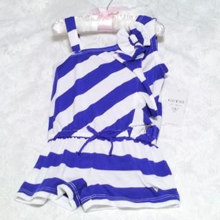 新品☆GUESSゲス☆子供服・ベビー服☆マリンボーダー☆つなぎ☆ワンピース(ワンピース)