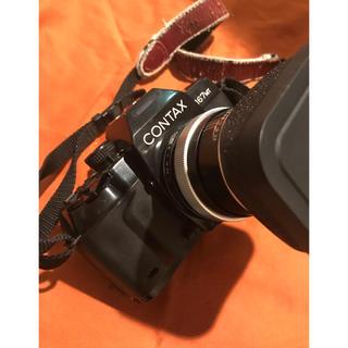 キョウセラ(京セラ)のContax コンタックス 167 MT ジャンクで売ります レンズ付き(フィルムカメラ)