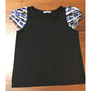 ミスティウーマン(mysty woman)のミスティウーマン パフスリーブTシャツ(Tシャツ(半袖/袖なし))