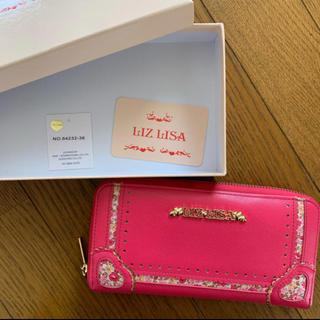 リズリサ(LIZ LISA)のリズリサ ピンク 長財布 ショッキングピンク(財布)