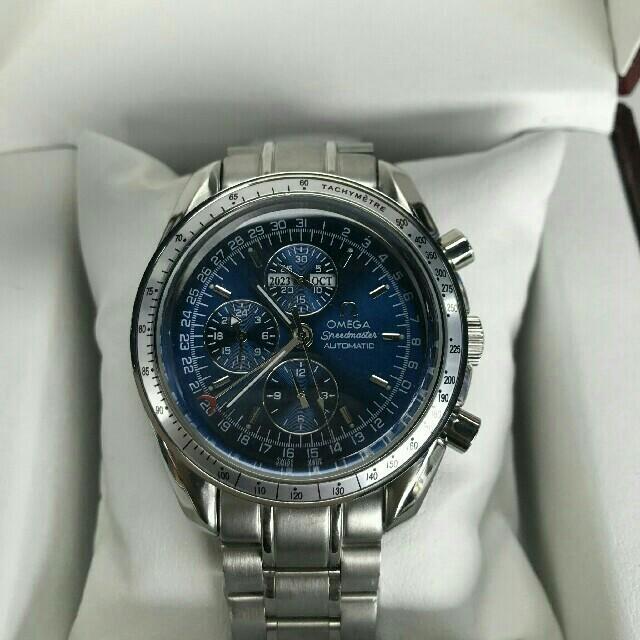 モーリス・ラクロアコピー激安優良店 、 OMEGA - Omega オメガ スピードマスター トリプルカレンダー メンズ腕時計の通販 by lio671 's shop|オメガならラクマ