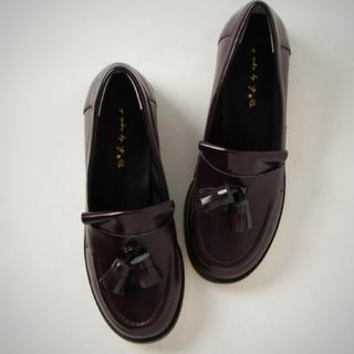 アニエスベー(agnes b.)のto b by agnes b タッセルローファー(ローファー/革靴)