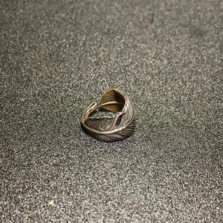 silver シルバー 925 フェザー top リング 指輪(リング(指輪))