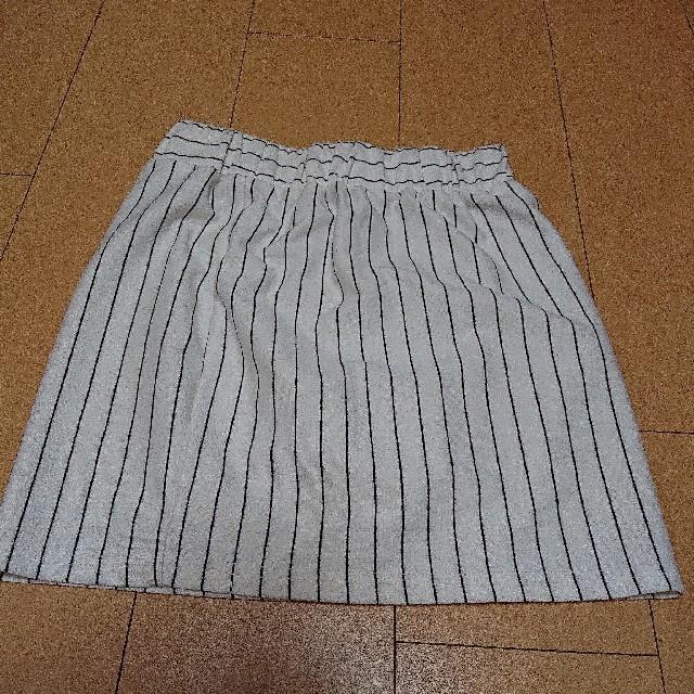 Avail(アベイル)のミニスカート ストライプ レディースのスカート(ミニスカート)の商品写真