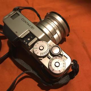 キョウセラ(京セラ)のContax G1 レンズ付き(フィルムカメラ)