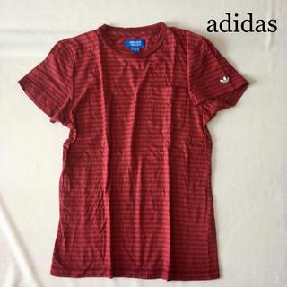 アディダス(adidas)のadidas アディダス ボーダー Tシャツ ☆(Tシャツ/カットソー(半袖/袖なし))