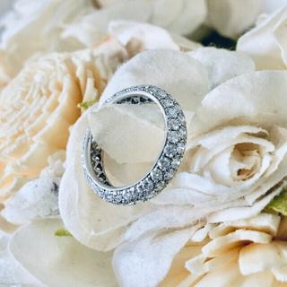 ダイヤモンド フルエタニティリング 朝まで値下げ プラチナ 1号 ピンキー(リング(指輪))