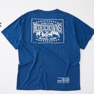 RODEO CROWNS WIDE BOWL - ロデオ今期完売 カラーパッチTシャツ メンズXL新品