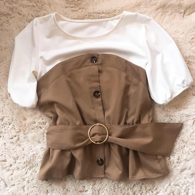 mysty woman(ミスティウーマン)のmysty woman ビスチェ とっぷす レディースのトップス(Tシャツ(半袖/袖なし))の商品写真