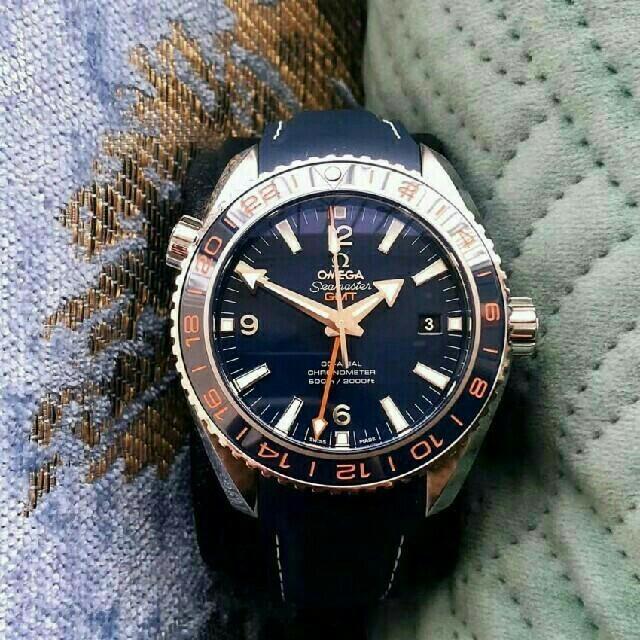 スーパーコピーリシャール・ミル時計a級品 - OMEGA - OMEGA シーマスター プラネットオーシャン GMT メンズ 腕時計の通販 by 古賀 憲広 's shop|オメガならラクマ