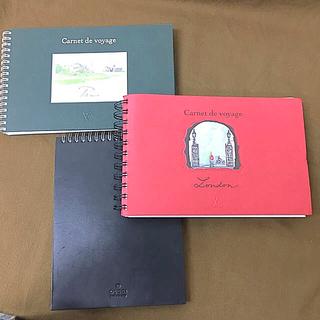 ルイヴィトン(LOUIS VUITTON)のGUCCI メモ帳 LOUIS VUITTON carnet de voyage(ノート/メモ帳/ふせん)