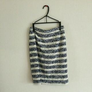 デミルクスビームス(Demi-Luxe BEAMS)のBEAMSタイトスカート(ひざ丈スカート)