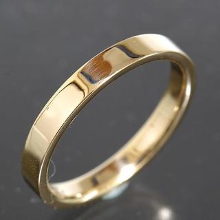 ティファニー(Tiffany & Co.)のティファニー TIFFANY&CO.シンプル リング 15号 K18YG 仕上済(リング(指輪))