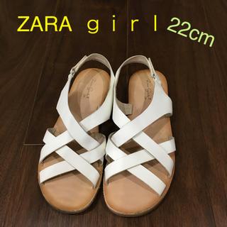 ザラキッズ(ZARA KIDS)のZARA  キッズ  22 センチ(サンダル)