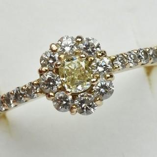 K18PG 合計 0.70ct ダイヤモンドリング 13号 指輪  (リング(指輪))