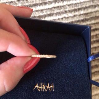 アーカー(AHKAH)のAHKAH 人気 ダイアリング(リング(指輪))