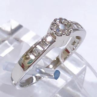 K10WG ダイヤモンド リング (リング(指輪))