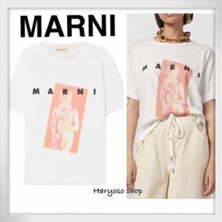 マルニ(Marni)のMARNI 今期Tシャツ(Tシャツ(半袖/袖なし))