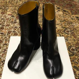 マルタンマルジェラ(Maison Martin Margiela)の新品 正規品 Maison Margiela TABI ブーツ ブラック 35(ブーツ)
