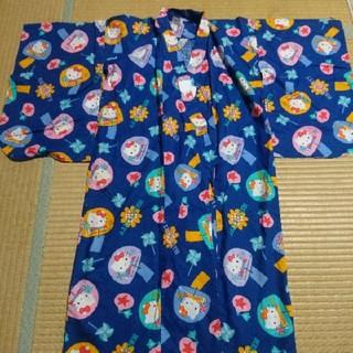 ハローキティ(ハローキティ)のキティ 浴衣 110センチ(甚平/浴衣)