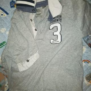 ティンバーランド(Timberland)の8才 シャツ付きポロTimberlandシャツ(Tシャツ/カットソー)