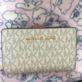 マイケルコース(Michael Kors)のマイケルコース 折り財布 ピンク(折り財布)