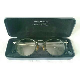 ビューティアンドユースユナイテッドアローズ(BEAUTY&YOUTH UNITED ARROWS)の金子眼鏡(KANEKO OPTICAL)(サングラス/メガネ)